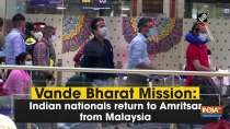 Vande Bharat Mission: Indian nationals return to Amritsar from Malaysia