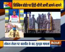 India-China face off at LaC. Soldiers incur minor injuries
