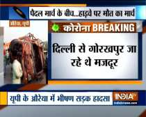 23 labourers dead and several injured as 2 truck collide in Auraiya