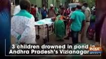 3 children drowned in pond in Andhra Pradesh