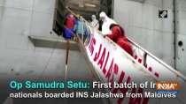 Op Samudra Setu: First batch of Indian nationals boarded INS Jalashwa from Maldives