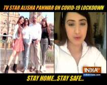 TV actress Aalisha Panwar opens up on staying alone amid lockdown