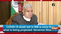 COVID-19 death toll in WB is more than what is being projected: Governor Dhankhar