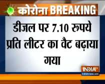 Govt increases diesel, petrol price in Delhi from today