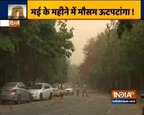 Dust storm sweeps Delhi-NCR