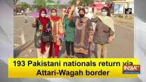 193 Pakistani nationals return via Attari-Wagah border