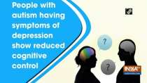 People with autism having symptoms of depression show reduced cognitive control