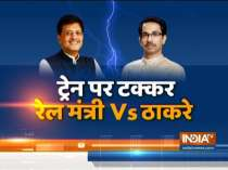 Twitter war between Piyush Goyal & Uddhav Thackeray over Shramik trains list    Debate