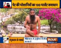 Learn from Swami Ramdev yogasanas and home remedies to treat ulcers