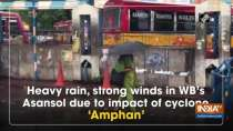 Heavy rain, strong winds in WB