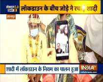 Kanpur: Couple gets married while following social distancing norms