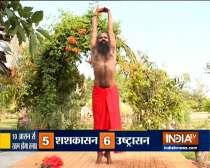 Do Tadasana, Ardha Chakrasana to treat depression: Swami Ramdev