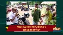 Heat waves hit Odisha