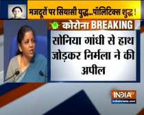 Nirmala Sitharaman slams Rahul Gandhi over comments over migrant labourers