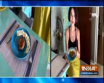 TV actress Parull Chaudhry makes delicious pancakes at home