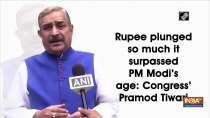 Rupee plunged so much it surpassed PM Modi