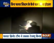25 doctors rescued as fire breaks out at Mumbai hotel last night