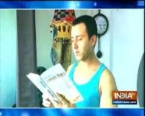 TV actor Krishna Bharadwaj opens up on his love for books