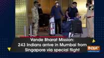 Vande Bharat Mission: 243 Indians arrive in Mumbai from Singapore via special flight