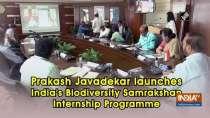 Prakash Javadekar launches India
