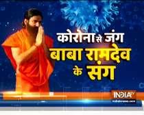 Swami Ramdev suggests yoga asanas to improve memory and eyesight in kids
