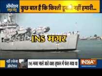 Operation Samudra Setu: INS Jalashwa arrives in Kochi with 698 repatriated Indians from Maldives