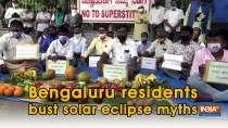 Bengaluru residents bust solar eclipse myths