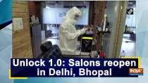 Unlock 1.0: Salons reopen in Delhi, Bhopal