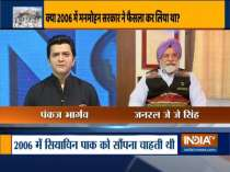 Did Congress propose a deal to hand over Siachen to Pakistan in 2006? Ex-Army chief JJ Singh speaks