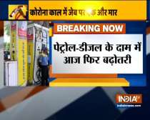 Petrol price hiked by 59 paise per litre, diesel by 58 paise