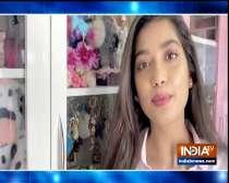 TV actress Digangana Suryavanshi flaunts her collection of accessories