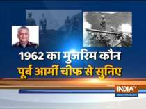 Former Army Chief reveals why India lost to China in the 1962 war?