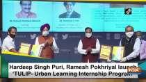 Hardeep Singh Puri, Ramesh Pokhriyal launch