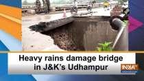 Heavy rains damage bridge in JandK