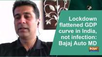 Lockdown flattened GDP curve in India, not infection: Bajaj Auto MD