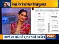 Actress Taapsee Pannu, Renuka Shahane complain of
