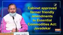 Cabinet approved farmer friendly amendments to Essential Commodities Act: Javadekar