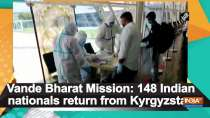 Vande Bharat Mission: 148 Indian nationals return from Kyrgyzstan