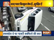 A vehicle in NCP chief Sharad Pawar