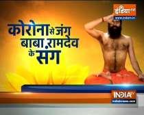 Swami Ramdev shares pranayam to keep after-effects of coronavirus away, make lungs strong