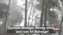 Cyclone Nisarga: Strong winds and rain hit Ratnagiri