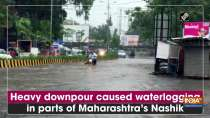 Heavy downpour caused waterlogging in parts of Maharashtra