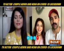 Adhvik Mahajan and wife Neha talk about how they are supporting each other during quarantine