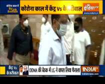 L-G Baijal reverses order mandating Delhi COVID patients to visit govt centres