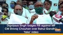 Digvijaya Singh lodges FIR against MP CM Shivraj Chouhan over Rahul Gandhi