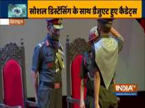 Graduation ceremony, 50 cadets of 115th course held at Army Cadet College in Dehradun today