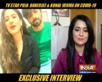 TV couple Puja Banerjee and Kunal Verma open up their wedding