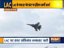 IAF swings into action to guard LAC at Ladakh