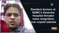 Resident doctors at NDMC