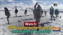 Watch: ITBP jawans perform yoga on International Yoga Day
